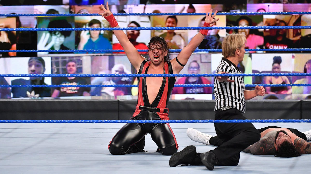Shinsuke Nakamura successfully defeated Jey Uso on this weeks edition of SmackDown.