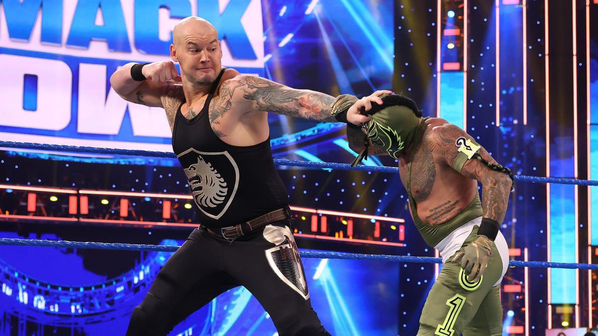WWE Smackdown Results (15/01/21): Kevin Owens Returns; Mysterio vs Corbin 1