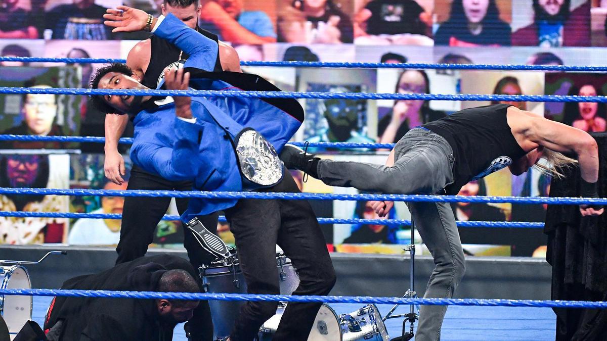 Dolph Ziggler ambushed Montez Ford on WWE SmackDown.