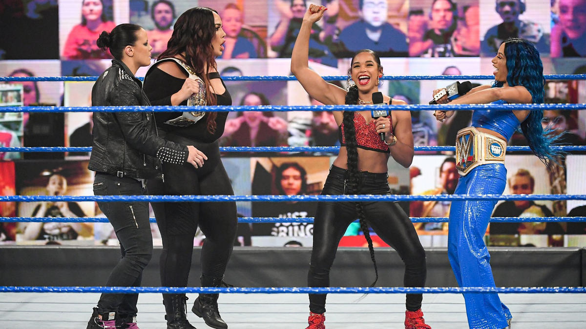The WWE Women's Tag Team Champions Invade SmackDown
