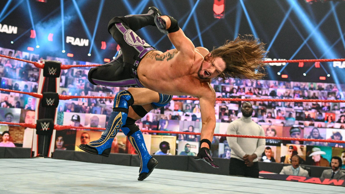 WWE Raw Results (22/02/21): Lashley vs Strowman; Tag Champs In Action 6