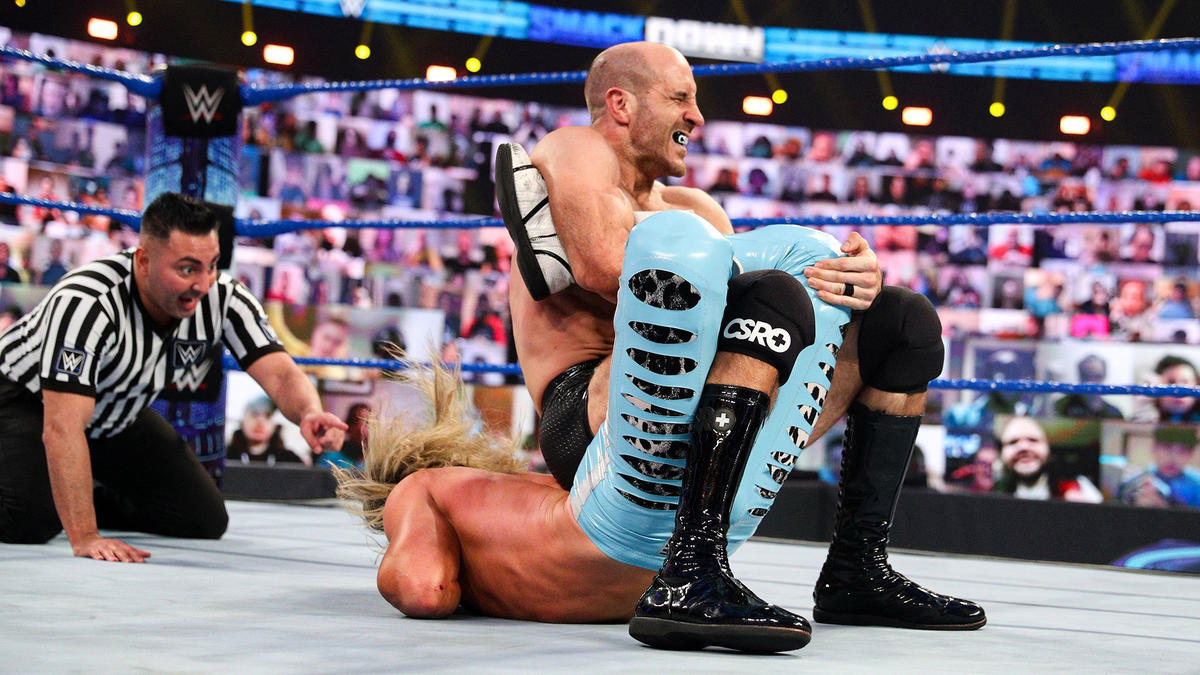 Cesaro Gives Heartfelt Promo Following His Elimination Chamber Qualification Match