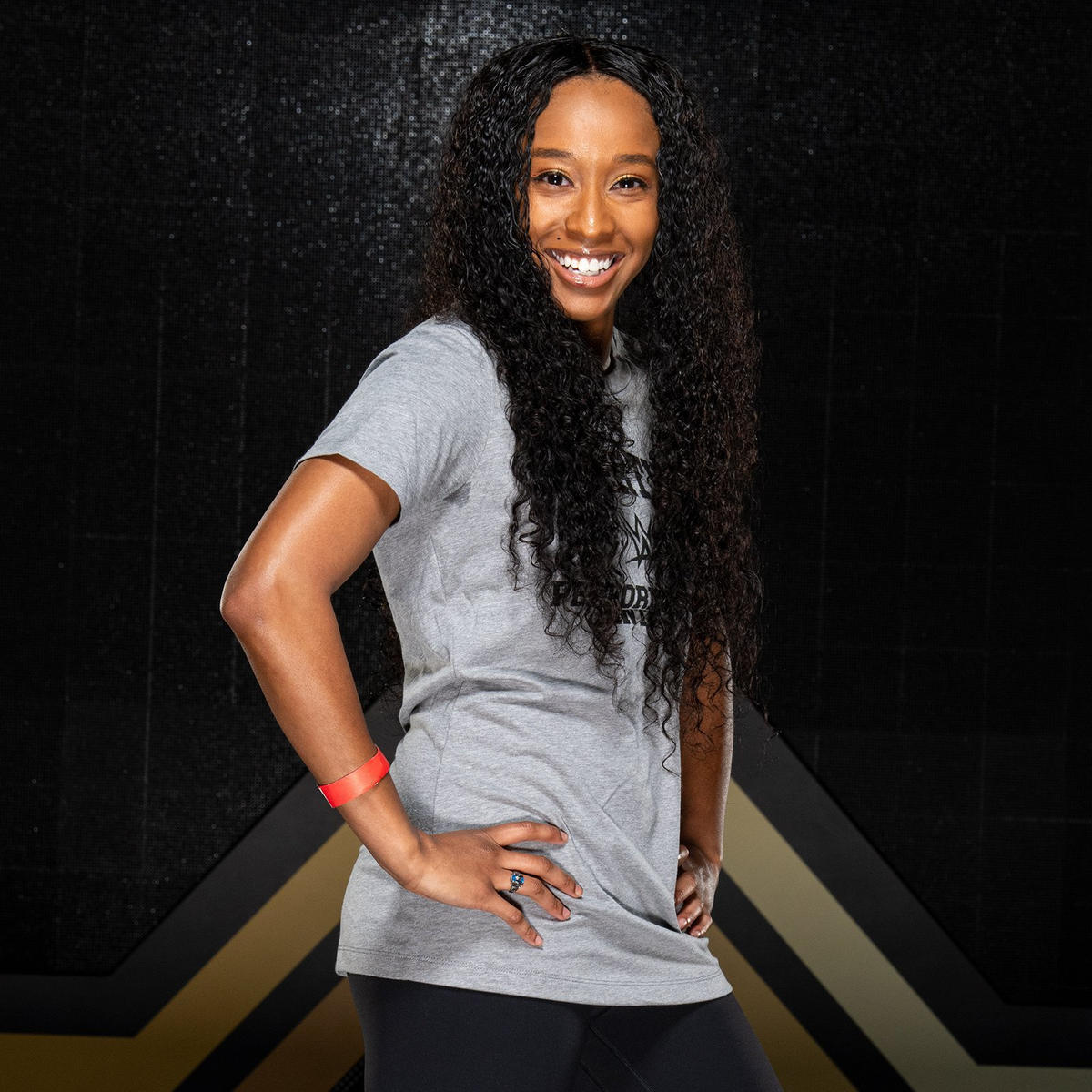 Angela Arnold trained for the squared circle under WWE Hall of Famer Booker T.