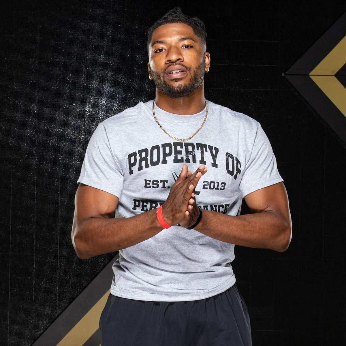 Matrick Belton played Division I football for the University of South Carolina and has attended training camps for the NFL's Philadelphia Eagles.