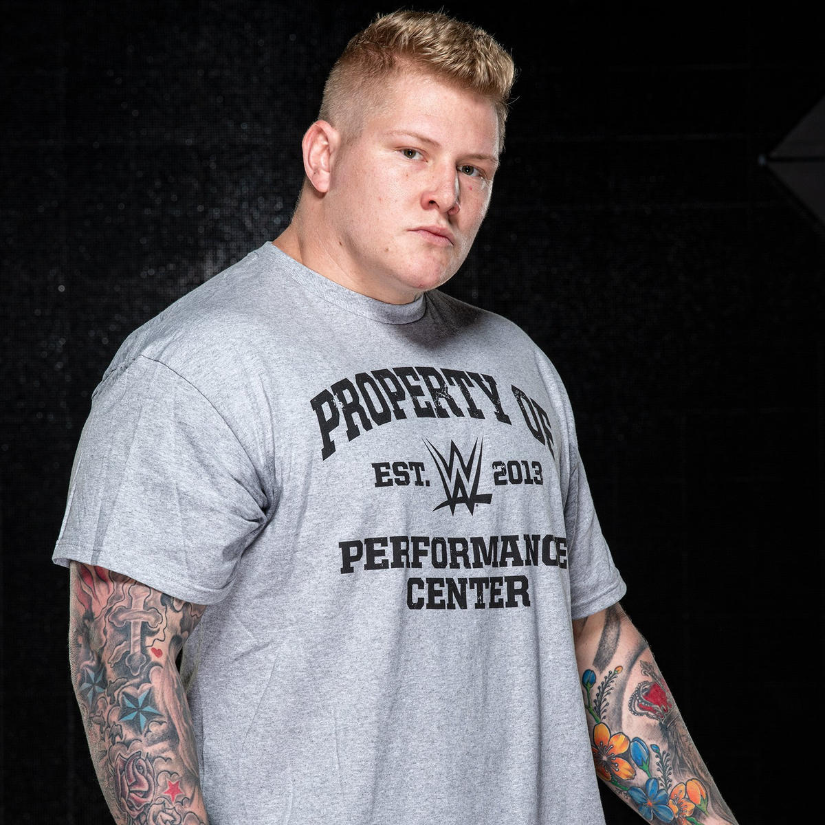 The big man was an offensive lineman for the University of Central Florida and has caught the eye of Paul Heyman on social media.