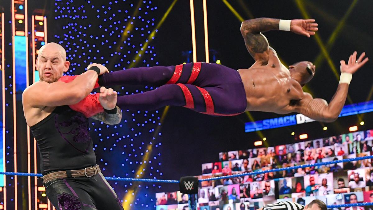 WWE Smackdown Results (05/03/21): Steel Cage Match; Murphy Returns; Belair vs Baszler 2