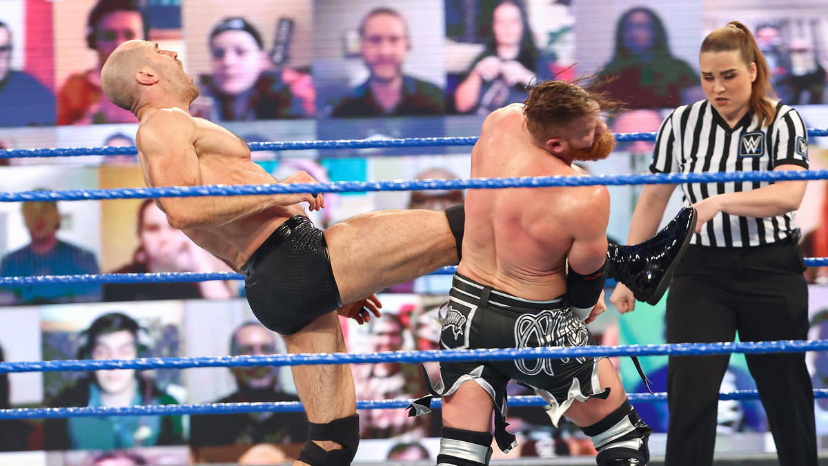 WWE Smackdown Results (12/03/21): Edge Appears; Contract Signing; Tag Team Match 2