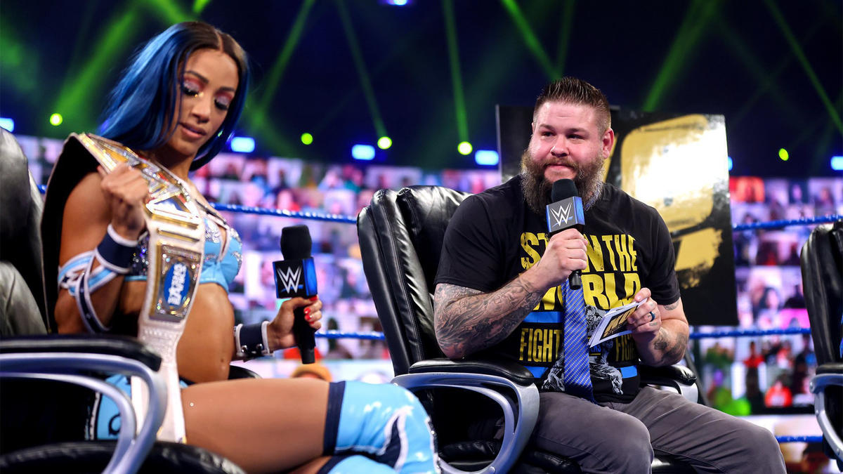 WWE Smackdown Results (12/03/21): Edge Appears; Contract Signing; Tag Team Match 3