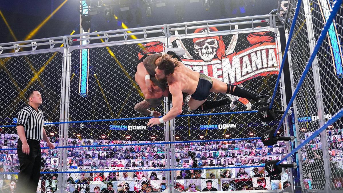 WWE Smackdown Results (05/03/21): Steel Cage Match; Murphy Returns; Belair vs Baszler 5