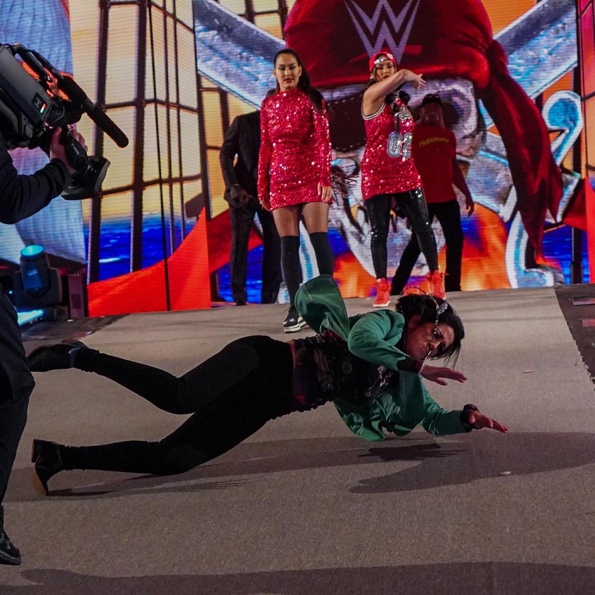 The Bella Twins Got Physical At WWE Wrestlemania 37; Share Photo Dump 6