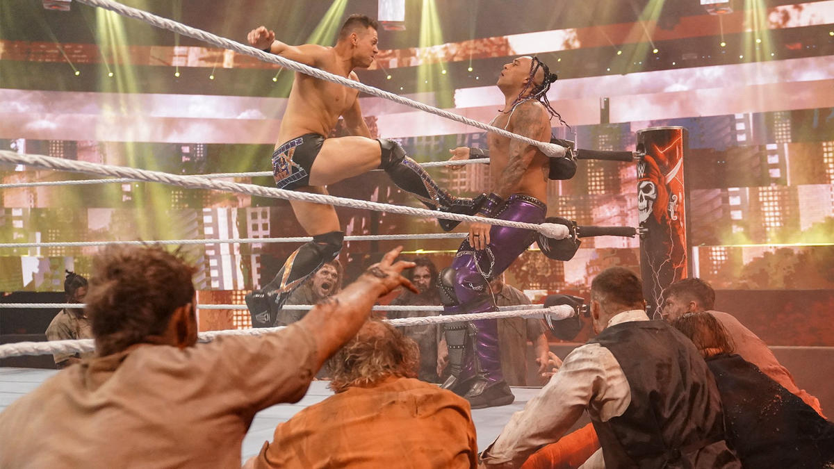 Wrestlemania Backlash 2021: Legendary Batista Sends His Zombies To WWE PPV 93