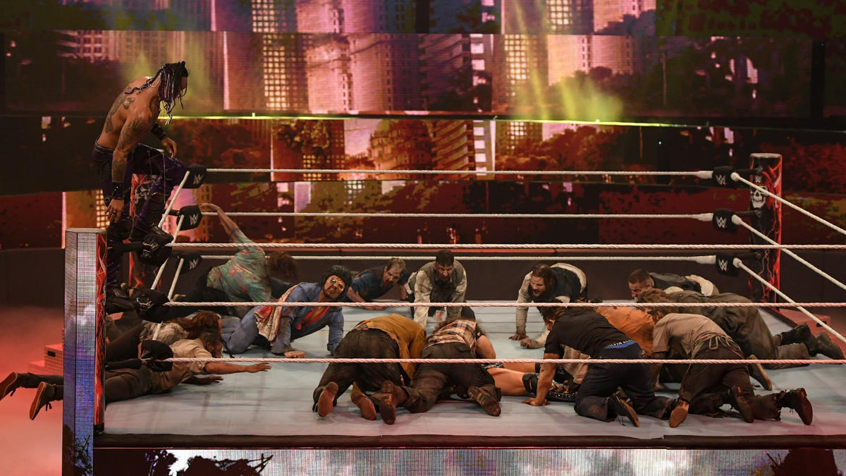 Wrestlemania Backlash 2021: Legendary Batista Sends His Zombies To WWE PPV 95