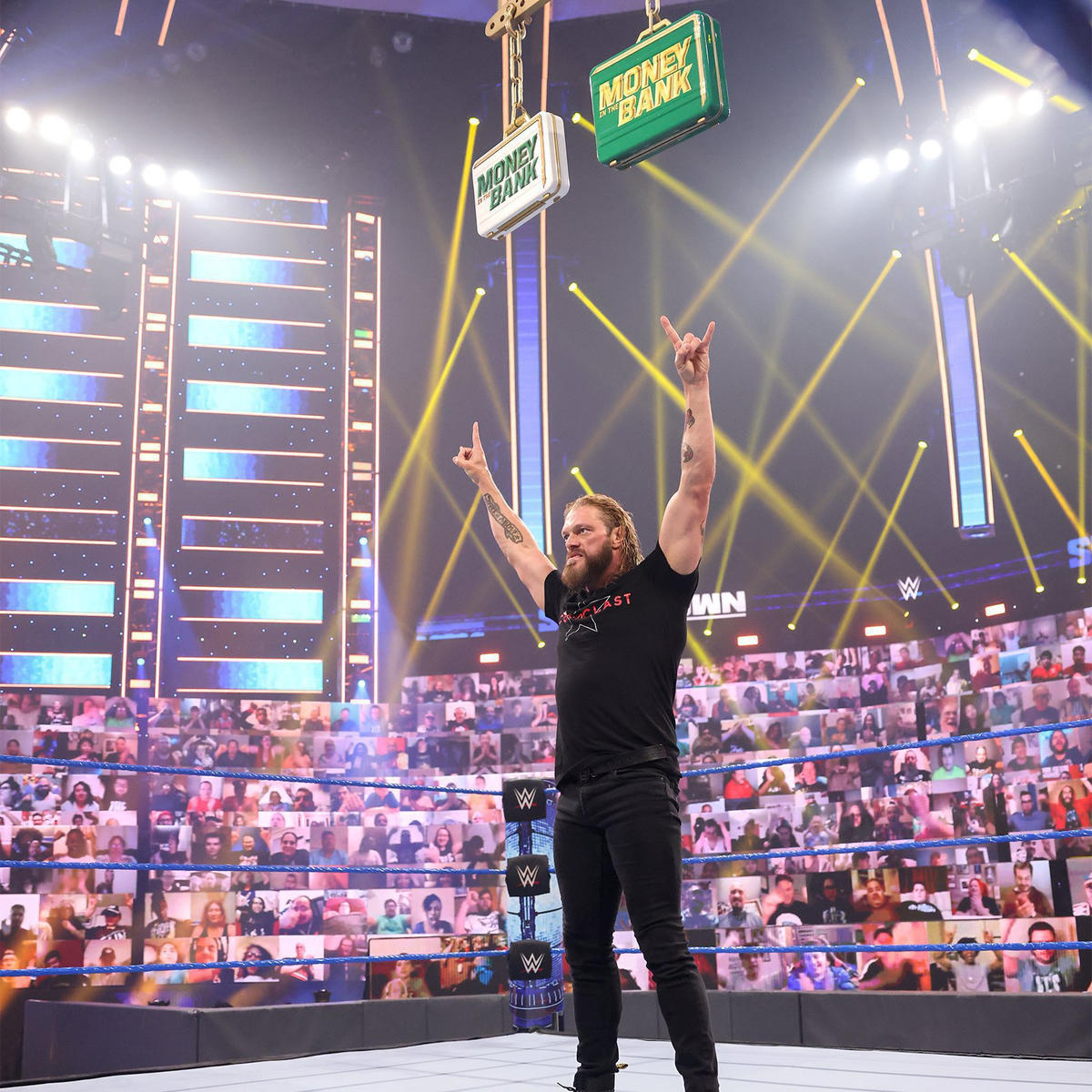 Edge Takes Out Roman Reigns In Emphatic WWE Smackdown Return 76