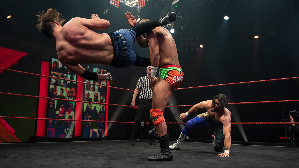 Ashton Smith and Oliver Carter vs Rohan Raja and Teoman