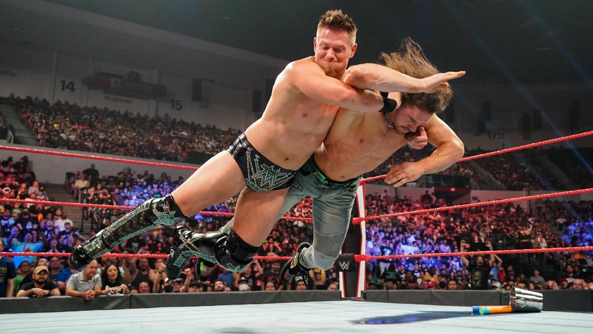 The Miz Turns On John Morrison On Post-Summerslam 2021 WWE Raw 30