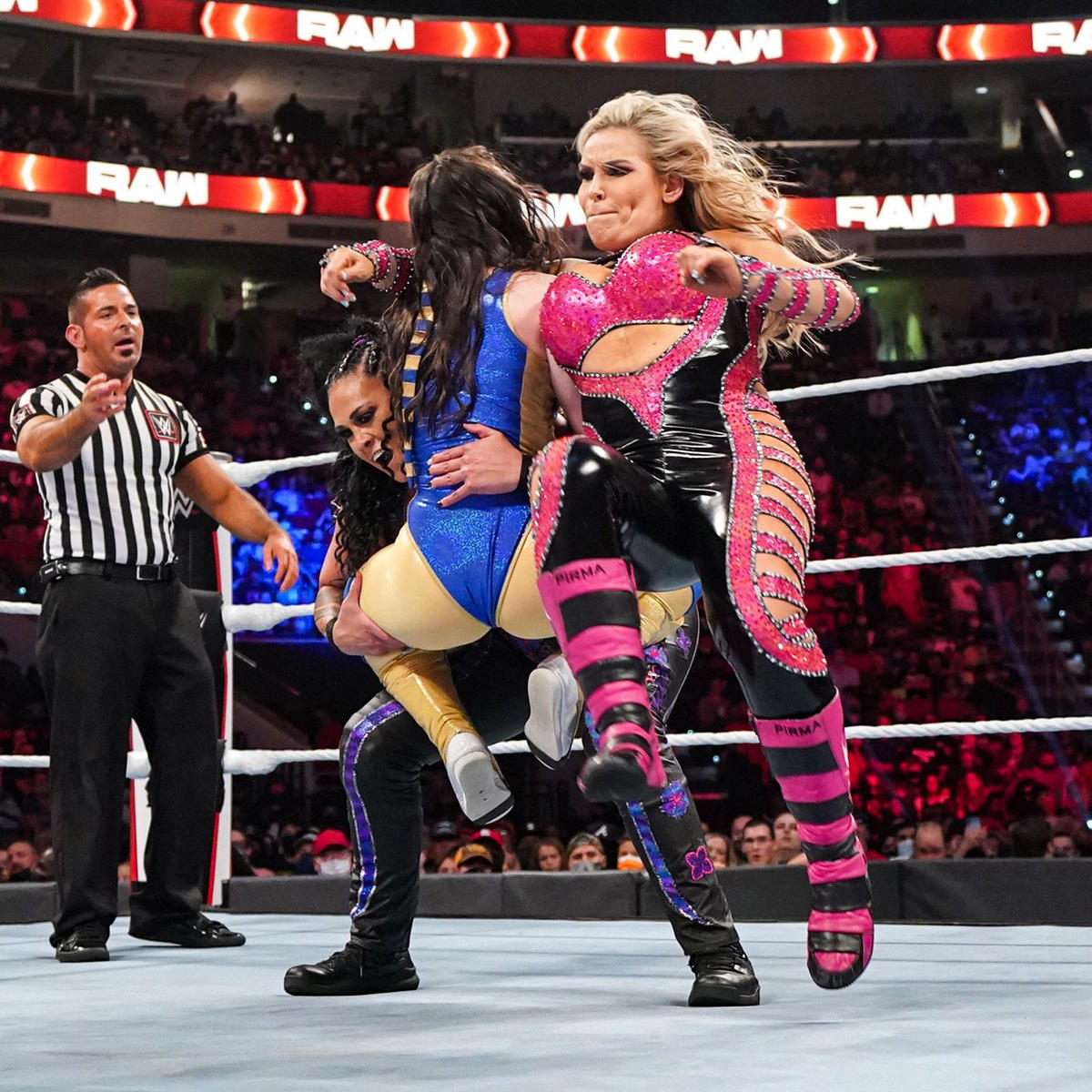 Women's Tag Team Titles Changed Hands On WWE Raw 1