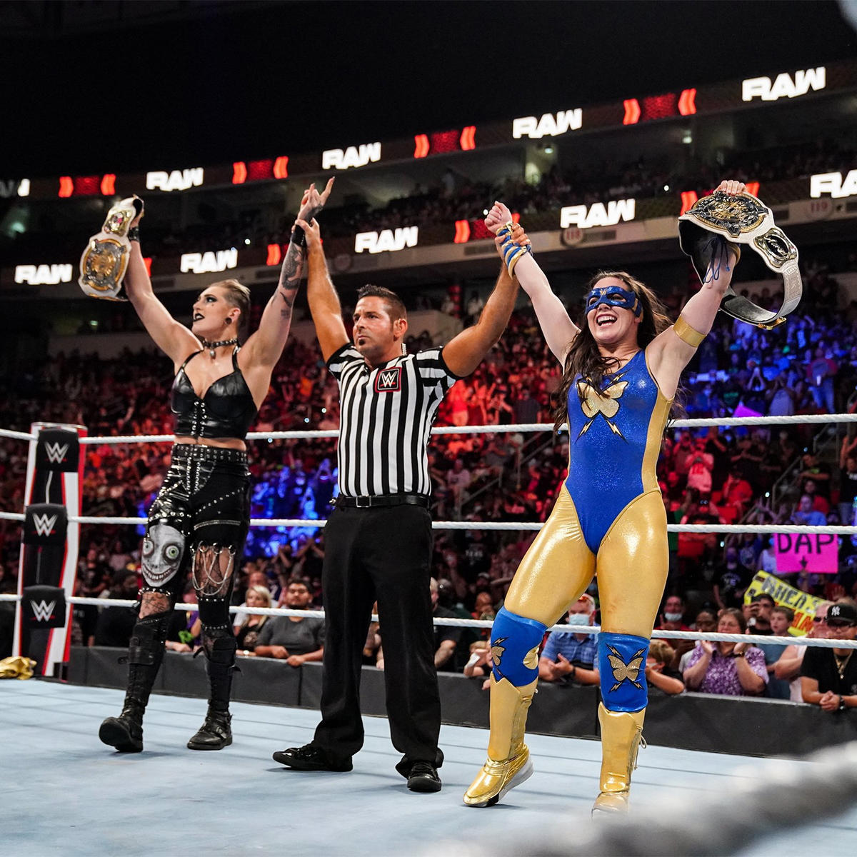 Women's Tag Team Titles Changed Hands On WWE Raw 2