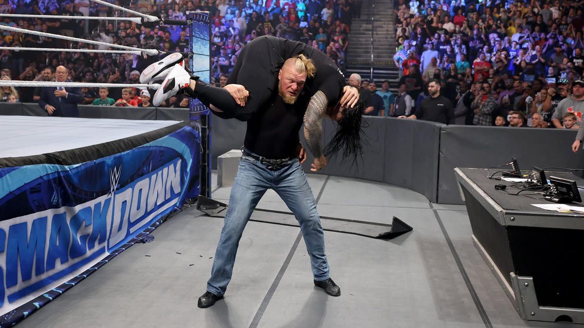 WWE Suspends Brock Lesnar Following His Ruthless Actions On Smackdown 77