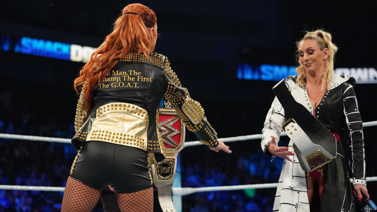 Charlotte Flair And Becky Lynch Exchanged Their Titles On WWE Smackdown 68
