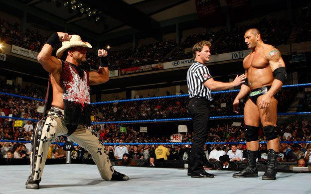 Image result for WWE Backlash 2008 Batista vs Shawn Michaels wwe.com