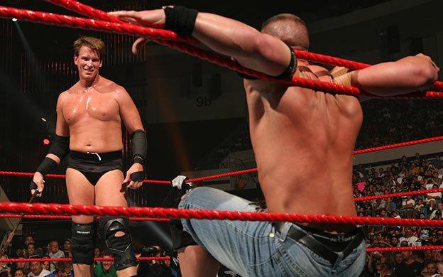 First Blood Match: John Cena defeats JBL   WWE