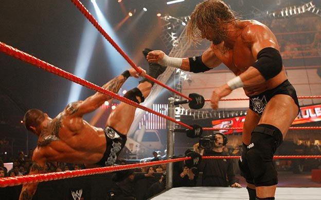 Last Man Standing WWE Championship Match: Triple H vs. Randy Orton   WWE