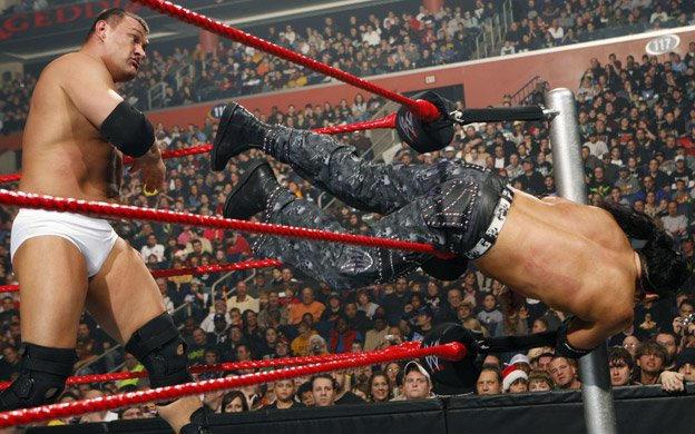 Image result for armageddon 2008 Matt Hardy vs Vladimir Kozlov