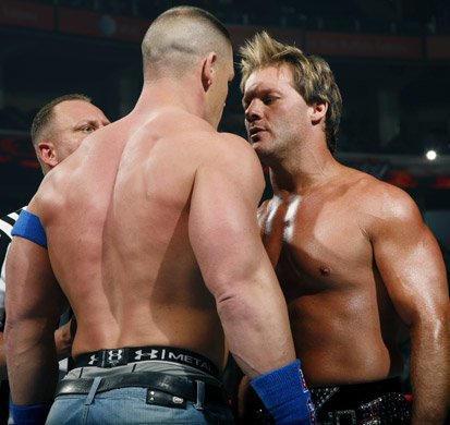 Image result for armageddon 2008 John Cena vs Chris Jericho