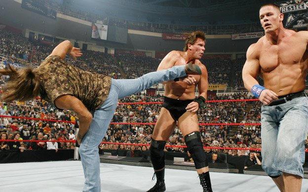 World Heavyweight Champion John Cena vs. JBL | WWE