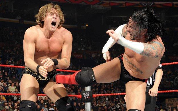 Intercontinental Champion CM Punk & Mickie James vs. William Regal & Layla   WWE