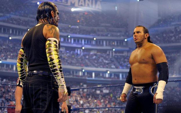 Jeff Hardy Vs Matt Hardy Wrestlemania 25