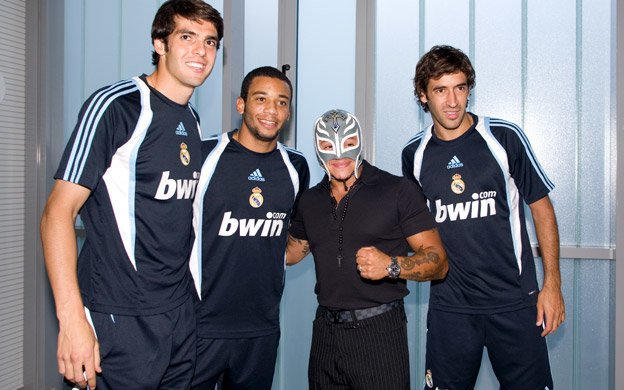 Cristiano Ronaldo And Rey Mysterio