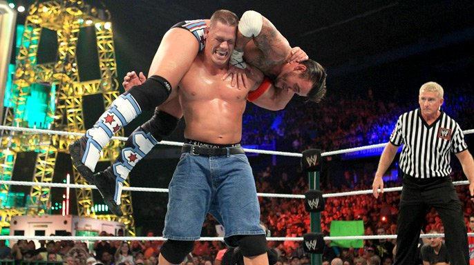 John Cena vs. CM Punk - WWE Championship Match | WWE