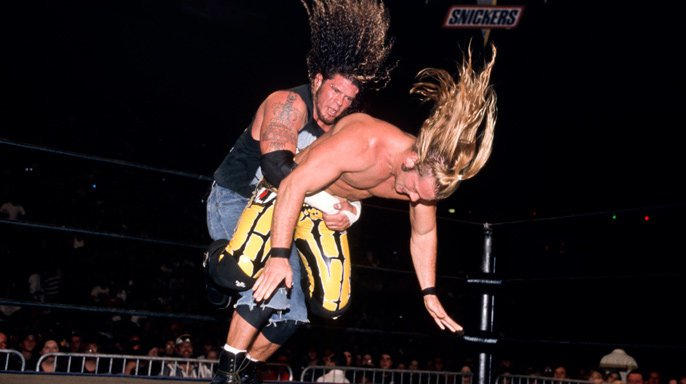 In Halloween Havoc 1998's opening contest, Chris Jericho battled Raven for the WCW TV Title.