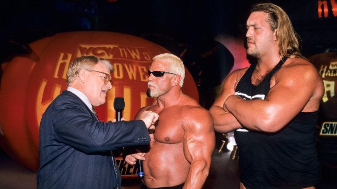 The nWo's Scott Steiner and The Giant were out to rule the night.