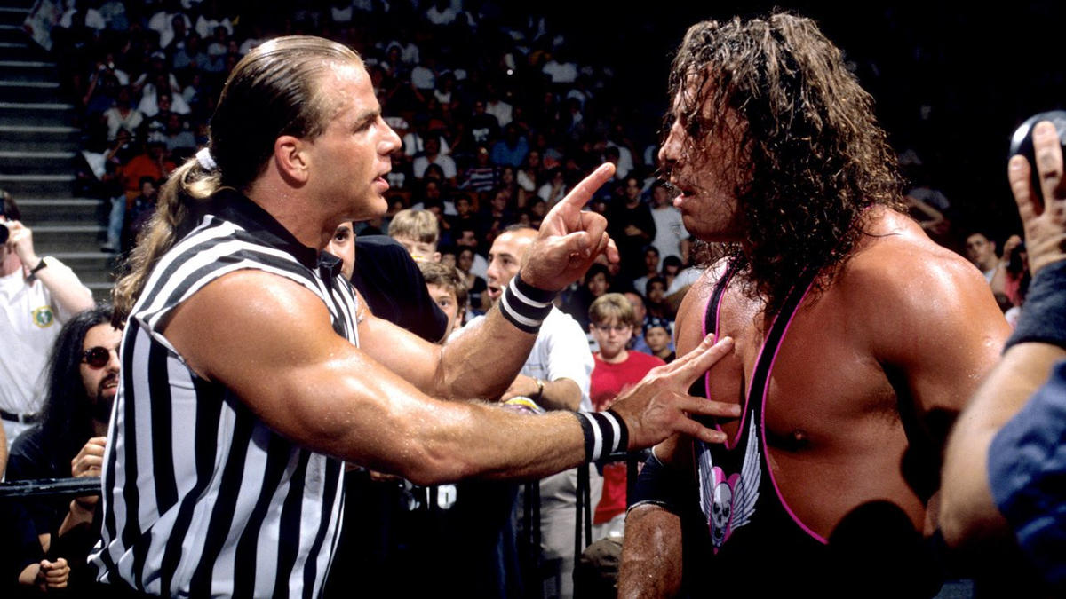 Shawn michaels as guest referee photos wwe wwe photo m4hsunfo Image collections