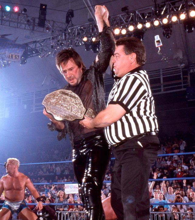 Image result for david arquette wcw world heavyweight championship
