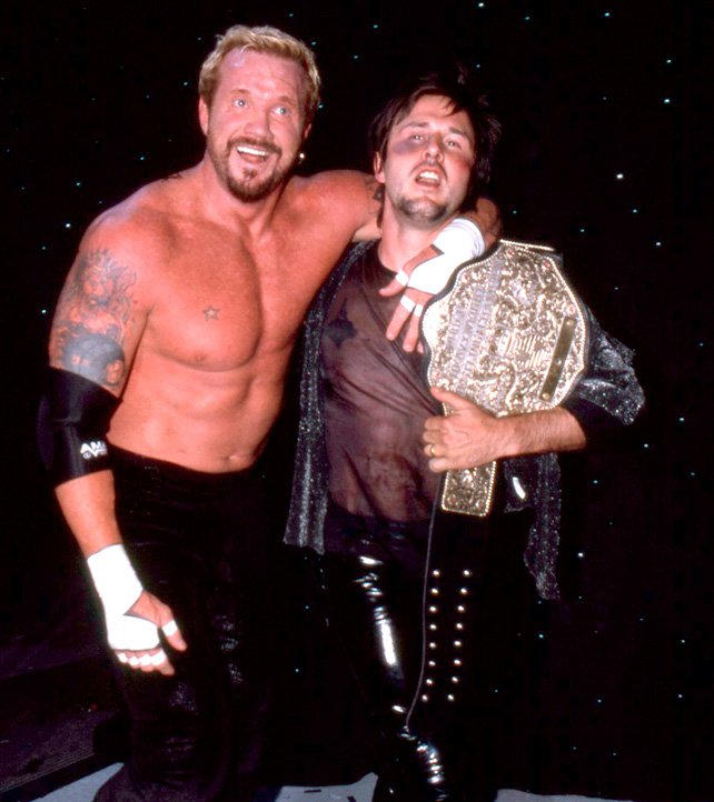 styl mody szczegółowy wygląd nowy autentyczny David Arquette wins the WCW World Heavyweight Championship ...