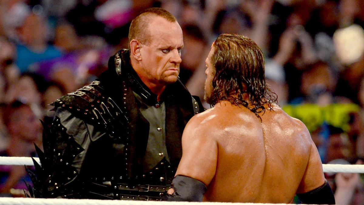 The Undertaker vs. Triple H -