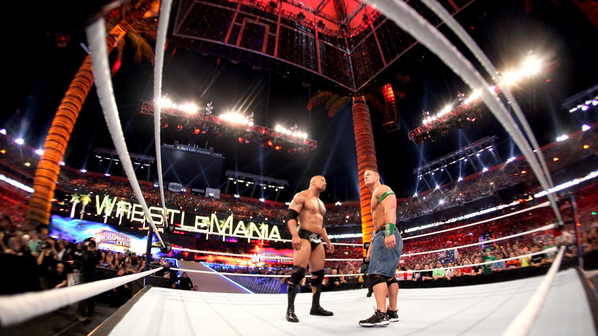John Cena vs. The Rock: photos | WWE