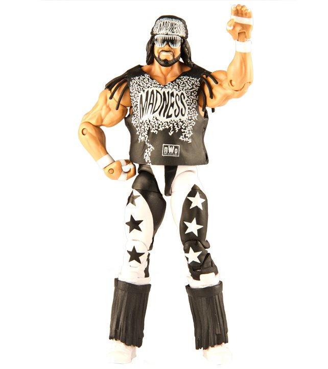 WWE Mattel Macho Man Randy Savage NWO Wolfpac Ringside Exclusive Elite Figure