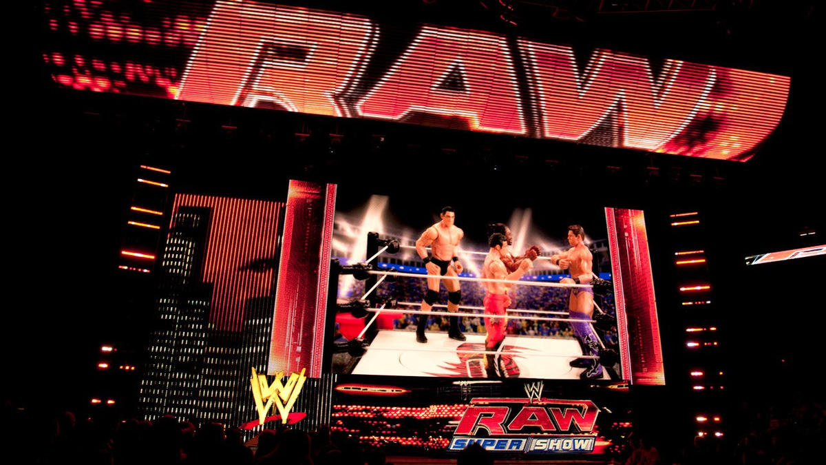 The Evolution Of Raw S Sets Photos Wwe