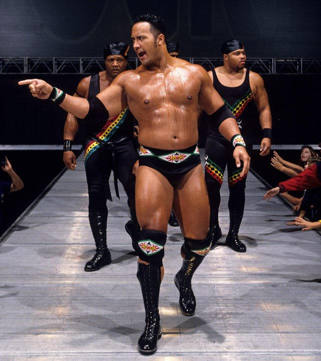 The Rock's rare Raw moments: photos | WWE