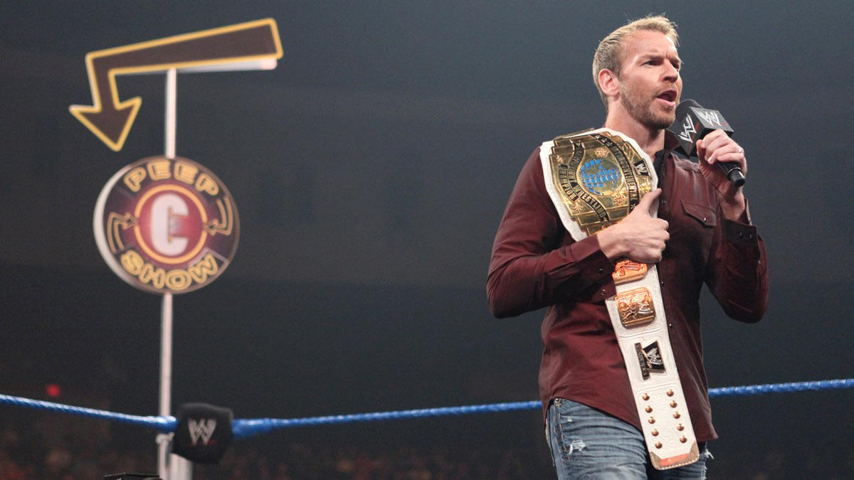 """Christian presents """"The Peep Show"""" with guests AJ and Daniel Bryan: photos 