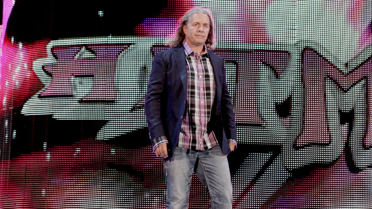 "WWE Hall of Famer Bret ""Hit Man"" Hart returns to the WWE ring in Montreal for the first time in nearly 15 years."