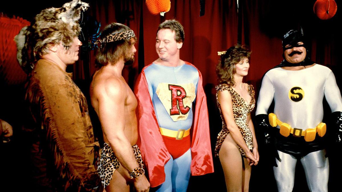 wwe legends got in the halloween spirit during a 1985 edition of saturday nights main event - Wwe Halloween Divas