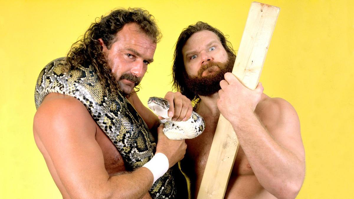 Jake The Snake and Hacksaw Jim Duggan