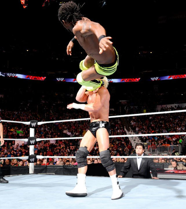 Randy Orton & Kofi Kingston vs  Dolph Ziggler & Alberto Del