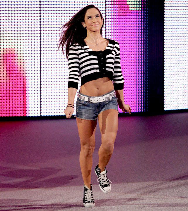 After Weeks Of Being At The Center Of A Scandal Aj Lee Has A Few