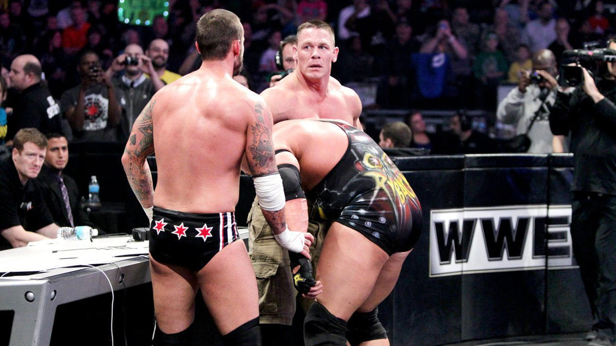 John Cena vs. Ryback vs. CM Punk - WWE Championship Triple Threat Match: photos | WWE